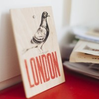 London sign.