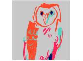 Neon owls