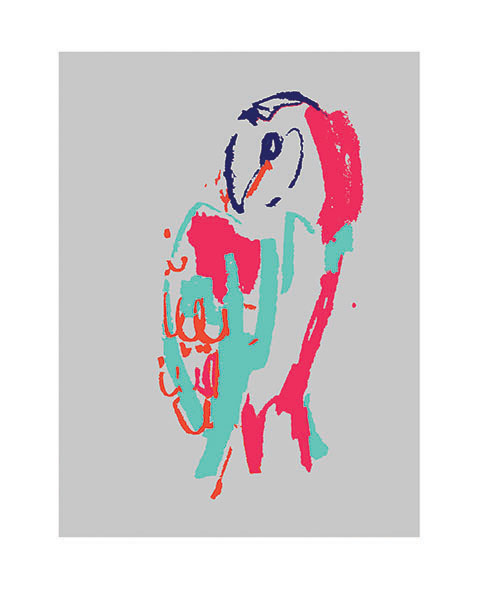 Neon Owl I