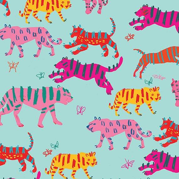 Tiger, tiger pattern