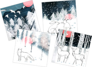 Christmas cards - packs