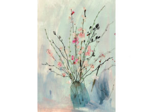 spring flowers and blossom arrangement laura mckendry