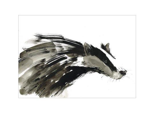 badger print laura mckendry